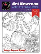 Art Nouveau Coloring - In The Spirit of Mucha