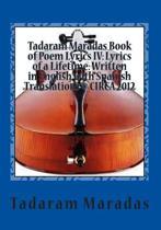 Tadaram Maradas Book of Poem Lyrics IV