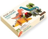 Petit Collage Pop-out 3d Dinosaurussen