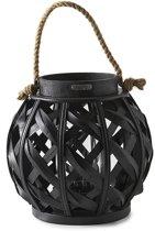 Riviera Maison Tiberio Lantern Windlicht - 33 Cm - Zwart