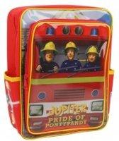 Brandweerman Sam Rugzak - 32 X 24 X 14 Cm - Rood/Geel