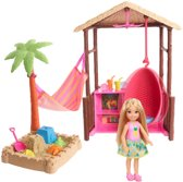 Barbie Travel Chelsea Tiki Hut Speelset