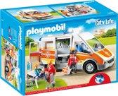 Playmobil Ziekenwagen met licht en geluid - 6685