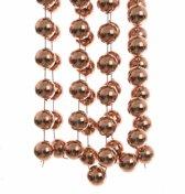 Kerst XXL kralen slinger brons 270 cm - kerstslinger