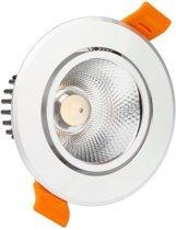 LED COB INBOUWSPOT adjustable 3W 3000K SIL