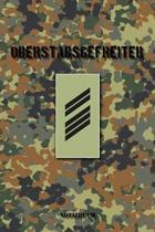 Oberstabsgefreiter: Vokalbelheft / Heft f�r Vokabeln - 15,24 x 22,86 cm (ca. DIN A5) - 120 Seiten
