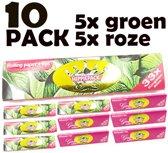 Lange Vloei hemp & Tip - Tobacco - Vloeipapier - Smoking vloei - Longpaper - 10 pack Mix