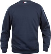 Basic roundneck 280 g/m² jr dark navy 130-140