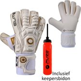 Elite - Real - Keepershandschoenen - inclusief Keepersbidon - maat 9 - voetbal keepershandschoenen - keepershandschoen - Goalkeeper handschoen