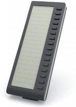 Mitel 80C00010AAA-A IP add-on module 16 knoppen Zwart