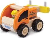 Houten speelgoedvoertuig Takelwagen