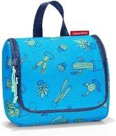 Reisenthel Toiletbag S Kids Toilettas - Kind - Polyester - Maat S - 1.5 L - Cactus Blue Blauw