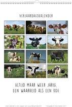 Blik op Holland Koeien & Spreuken Verjaardags-Kalender