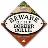 Beware of the Border Collie - Gietijzer