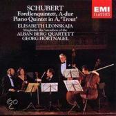 Schubert: Trout Quintet / Leonskaja, Alban Berg Quartet