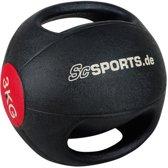 ScSPORTS® Medicine bal - Medicijnbal met handvatten 3 kg