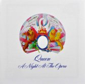 CD cover van A Night At The Opera (2011 Remaster van Queen