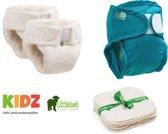 Little Lamb probeerpakket | wasbare luiers | Oeko-Tex 100 keurmerk | Kidzstore.eu