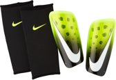 Nike Mercurial Lite  ScheenbeschermerVolwassenen - zwart/geel/wit Maat L: lengte 170-180cm