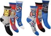6 paar sokken Marvel Avengers maat 27/30