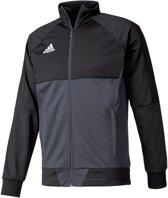 2307d5879277a1 adidas Tiro17 Trainingsjas - Maat L - Mannen - grijs/zwart