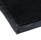 Toppin 60x100 cm - Schraap deurmat met rubber pinnetjes