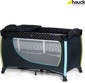 Hauck Sleep'n Play Center II Campingbedje - Multi Dots navy