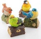Decoratieve Vogel met Geluid en Bewegingssensor