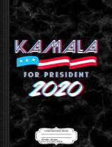 Kamala for President 2020 Composition Notebook