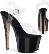 EU 38 = US 8 | SKY-308CRS | 7 Heel, 2 3/4 PF Ankle Strap Sandal