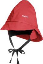 Playshoes Fleece Regenhoed Kinderen - Rood - Maat (49CM)