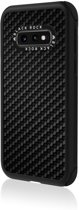 Real Carbon Backcover Samsung Galaxy S10e hoesje - Zwart