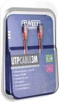 Sweex UTP Cat.5E Cable 3M Yellow