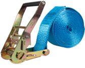 Logistiekconcurrent.nl Eindloze spanband 50 mm. 5 ton 4M Blauw