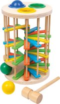 """Houten hamerbank voor kinderen -  ballen toren """"Large"""" - Houten speelgoed vanaf 2 jaar"""