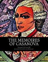 The Memoires of Casanova, Volume I, II and III