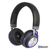 NGS Artica Patrol  - Bluetooth Headpone -  Draadloze Koptelefoon -  Blauw - hoofdtelefoon