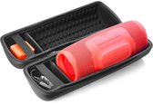 JBL case - Speakerhoes voor de Charge 4 | Beschermhoes voor de JBL charge 4 | Met Ruimte voor de JBL Charge 4 Accessoires | JBl Charge Hardcase
