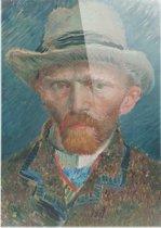 Zelfportret | Vincent van Gogh | Plexiglas | Wanddecoratie | 100CM X 150CM | Schilderij