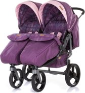 Duo Kinderwagen 0+ new borns Chipolino Twix amethyst