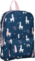 Milky Kiss Pretty Okay Llama Love Rugzak - 10,1 l - Navy blauw