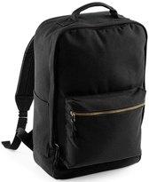 Bagbase Oakdale canvas backpack, Kleur Zwart