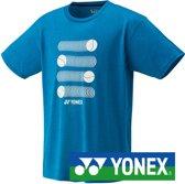 Yonex tennis- en padelshirt - infinite blauw - maat L