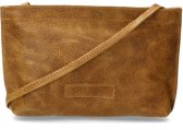 Shabbies Crossbodytas Crossbody Grain Leather Bruin