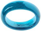 IHR Servetring - Glas - Blauw