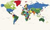 Wereldkaart-art-kleurrijk-modern-decoratief-Worldmap-poster-large-70x100cm.