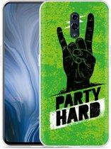 Oppo Reno Hoesje Party Hard 3.0