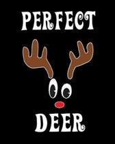 Perfect Deer: Deer Elk Antler Hunting Hobby 2020 Monthly Planner Dated Journal 8'' x 10'' 110 pages