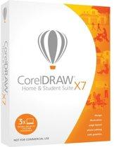 CorelDRAW Home & Student Suite X7 - Engels / 3 gebruikers