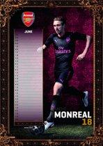 Officiële Arsenal FC A3 Voetbal Kalender 2018
